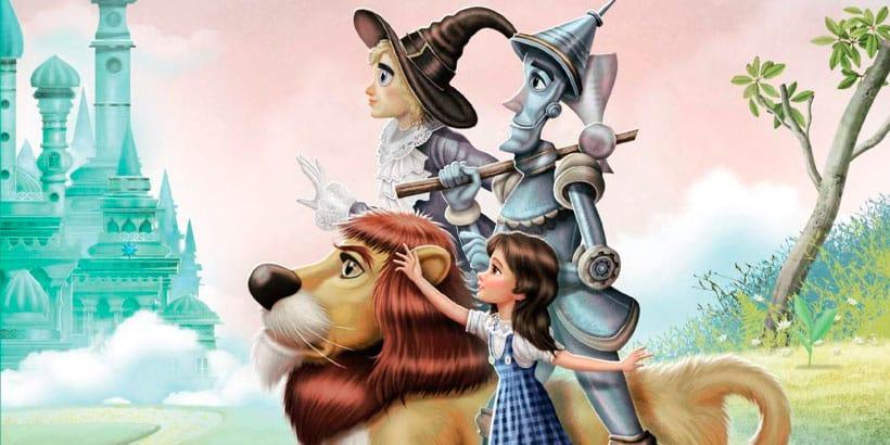 El mago de Oz, un libro infantil muy hermoso