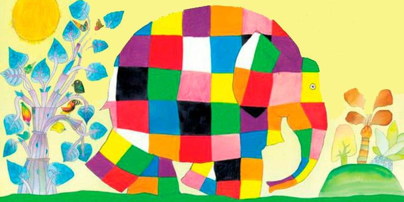 Elmer, libros para niños de 0 a 3 años