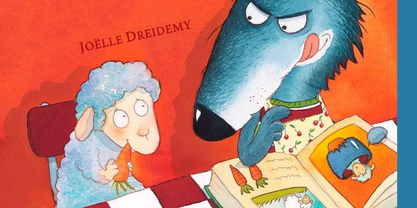 La ovejita que vino a cenar: Libros para niños de 0 a 3 años