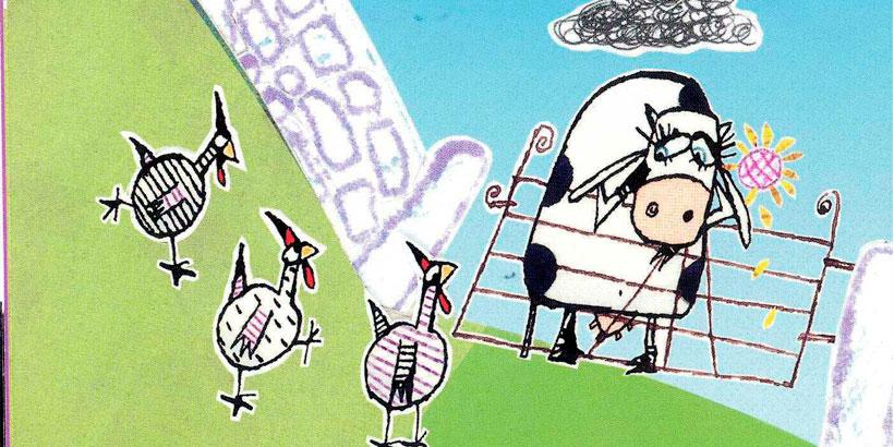 La vaca que puso un huevo: libros para niños de 0 a 3 años
