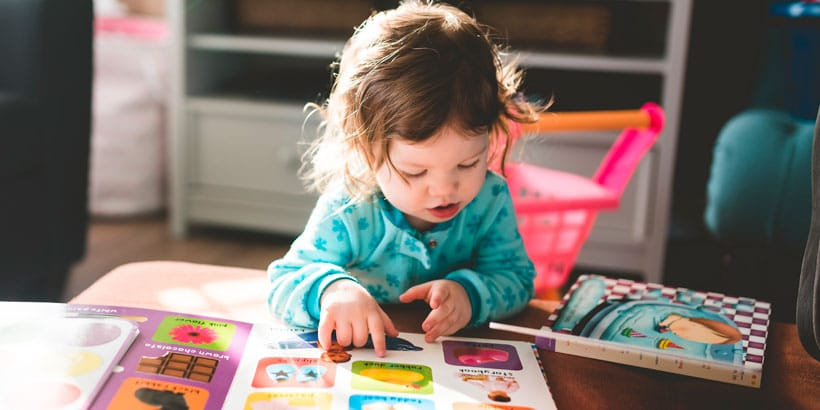 La mejor selección de libtros para niños de 0 a 3 años