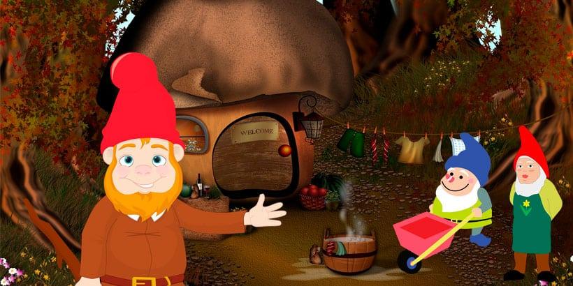 Cuento de los hermanos Grimm: Los tres enanitos del bosque