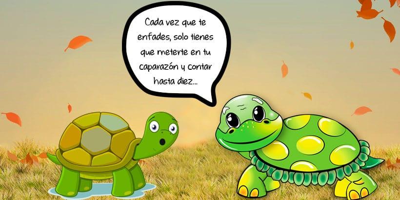 La tortuga Mauelita, un cuento sobre los enfados para niños