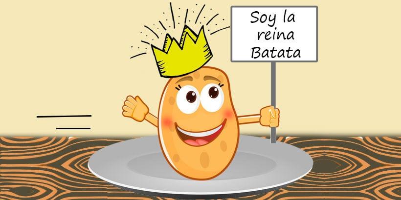 Poesía infantil La reina Batata