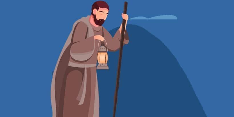 El nacimiento del niño Jesús, en obra de teatro