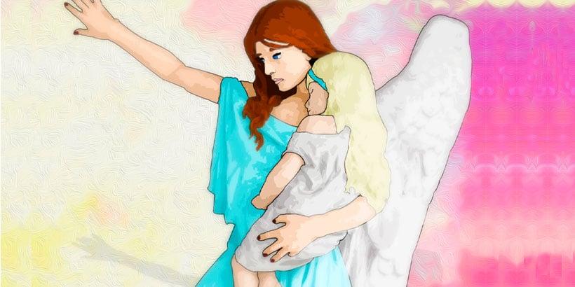 El cuento popular español 'El ángel de los niños'
