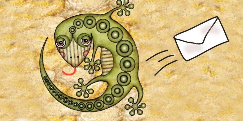 La lengua larga de la lagartija, un cuento mexicano