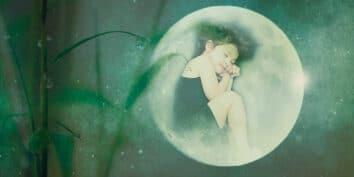 El cortador de bambú y la princesa de la luna, una leyenda japonesa