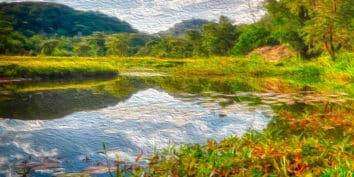 El lago de Antañavo, una leyenda de Madagascar