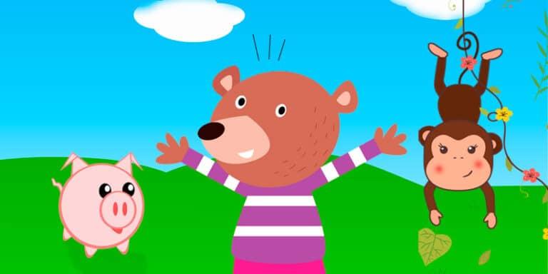El oso, la mona y el cerdo, una fábula de Iriarte