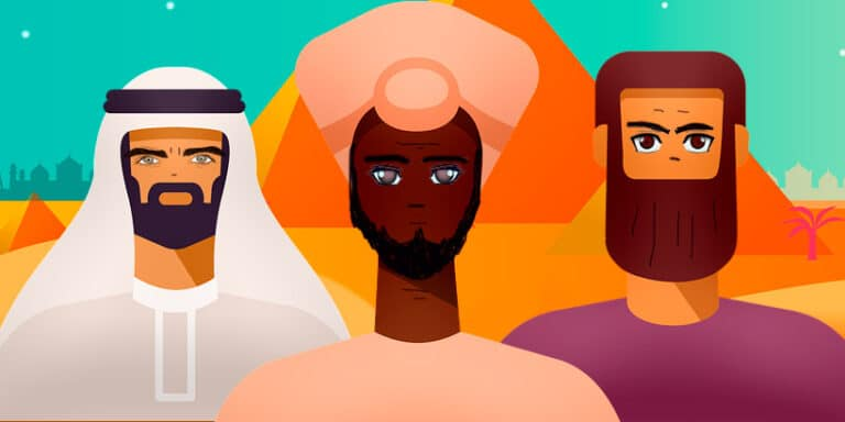 Los tres filósofos, una fábula africana