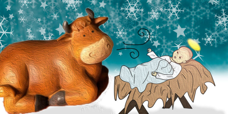 El buey de barro, un cuento de Navidad para niños y mayores