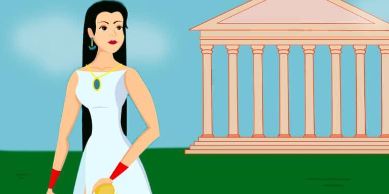 Ulises en el palacio de Circe, mitología para niños